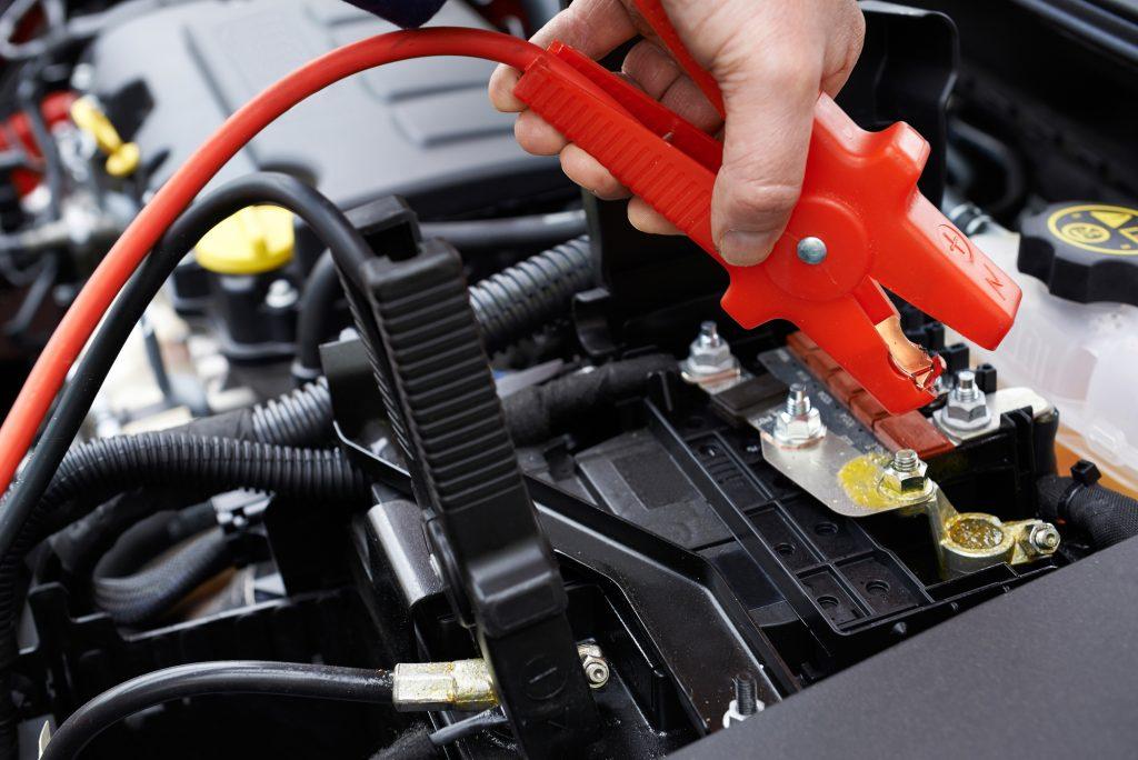 dead car battery denton tx